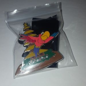 Disney Aladdin Iago Pin Villain Parrot Bird